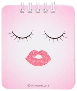 LG-Imports notebook emoticon pink