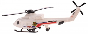 LG-Imports politiehelikopter wit 26 cm