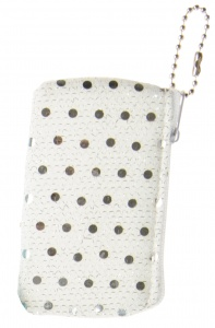 LG-Imports Wallet glitters white 9 cm