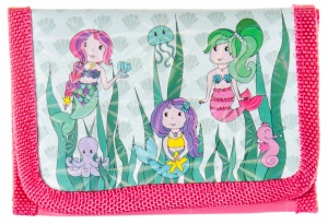 LG-Imports Wallet mermaids red 12 cm