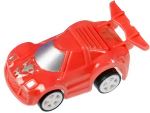 LG-Imports racing car pull back boys 6 cm red