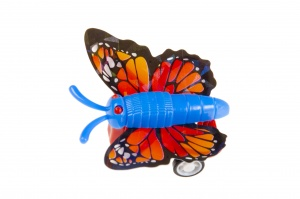 LG-Imports riding butterfly with pull back 4 cm multicolor 1 piece