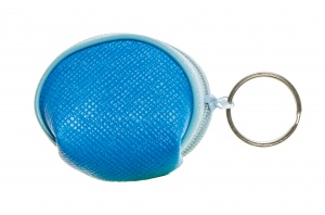 LG-Imports key ring wallet 6 cm blue