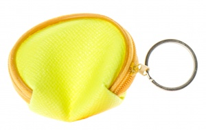 LG-Imports key ring wallet 6 cm yellow