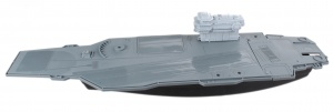 LG-Imports speelset Aircraft Carrier grijs 86 cm