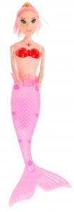LG-Imports teen puppet mermaid 23 cm pink