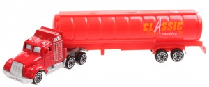 LG-Imports transporter die-cast 1:64 19 cm rood