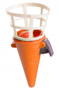 LG-Imports fangbecher Junior 7 cm orange