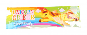 LG-Imports pitcher unicorn girls 22 x 7 cm foam yellow