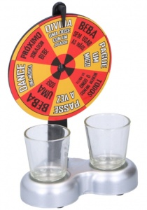 Lifetime Games Drink roulette 19 cm 3-piece (Spanish)