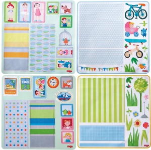 Little Friends decoration set for dollhouse 28 cm girls 4 sheets