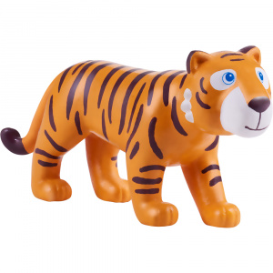 Little Friends poppenhuispop Tijger junior 11,5 cm PVC oranje