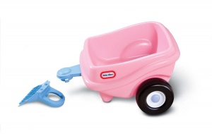 Little Tikes Trailer Cozy Coupe Roze