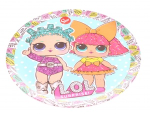 L.O.L. Surprise plate of melamine 20 cm