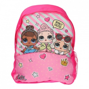 L.O.L. Surprise backpack Royal 12 liters pink