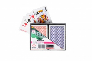 Longfield Games Play cards 2 suits