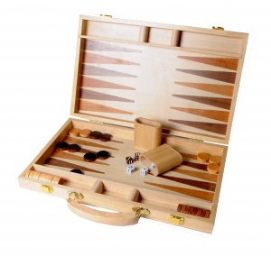 Longfield Games Backgammon hout 48 x 38 cm