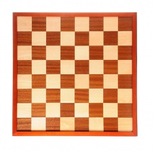 Longfield Games checkerboard and chessboard inlaid 42 x 42 cm