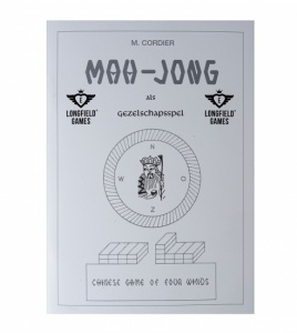 Longfield Games mahjong Rules booklet white