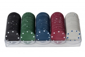 Longfield Games Pokerfiches 40 mm per 100 stuks