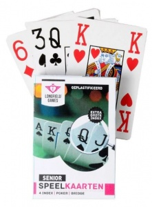 Longfield Games playing cards senior