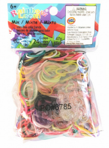 Loom loombandjes rainbow junior rubber 625-delig