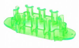 TOM loombord Mini junior rubber 8 x 2,5 x 2,5 cm lichtgroen