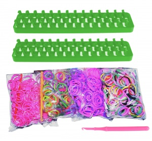Loom Twister loombands Fun Loom 2000-delig groen