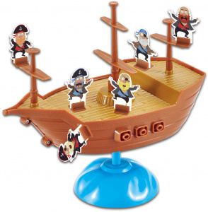 Luna brettspiel Piratenboot junior