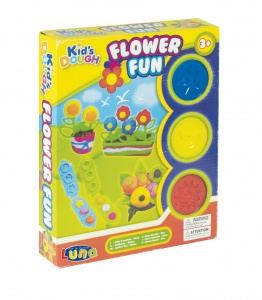 Luna clay set Flower Fun 18-piece