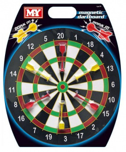 M.y dartset Doink It junior 40,5 cm magnetisch staal 7-delig
