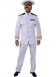 Magic Design verkleedkleding Officier polyester wit