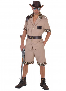 Magic Design verkleedkleding Safari polyester lichtbruin