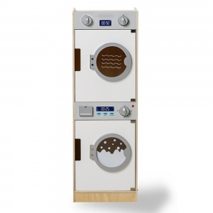 Mamamemo washer and dryer wood 86 cm