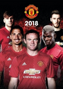 Manchester United kalender 2018 Official 30 x 42 cm