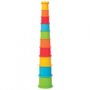 Manhattan Toy stapeltoren Stack and Smash junior 55,88 cm 10-delig