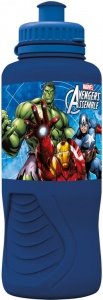 Marvel Avengers drinkfles 400 ml donkerblauw