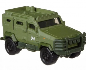 Matchbox aktionsfahrzeug Jurassic World - '10 Textron Tiger (FMX12) 6 cm lang