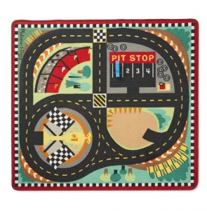 Melissa & Doug Round the race track speelkleed 91 x 100 cm