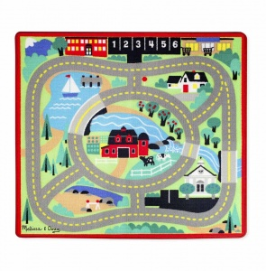 Melissa & Doug Round the town speelkleed 91 x 100 cm