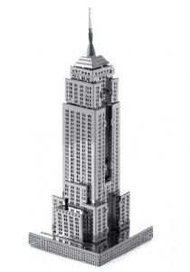 Metal Earth Empire State Building 3D modelbouwset 10 cm
