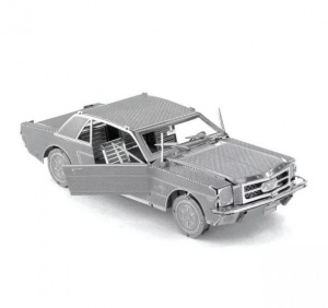 Metal Earth Ford Mustang Coupe 1965 3D modelbouwset 9 cm
