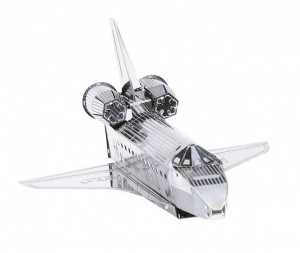 Metal Earth space shuttle discovery 3D modelbouwset
