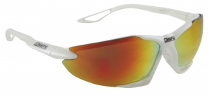 11a55ca64690 Mighty sports and cycling glasses with interchangeable glass white