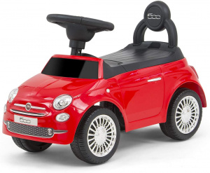 Milly Mally loopauto Fiat 500 junior 60 cm rood