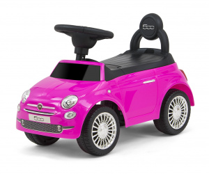 Milly Mally walking Fiat 500car junior 60 cm pink