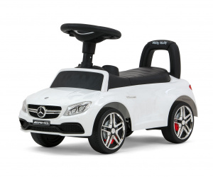 Milly Mally running car Mercedes junior 63 x 28 x 38 cm steel white