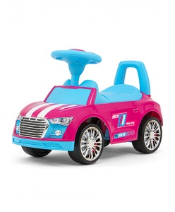 Milly Mally running car racing car junior pink/blue