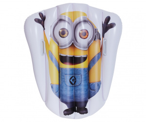 Happy People matelas pneumatique Minions92 x 109 cm jaune