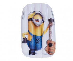 Happy People matelas pneumatique Minions95 x 81 cm jaune